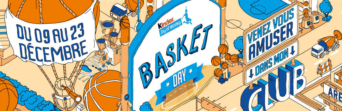 Kinder Joy Of Moving Basket Day