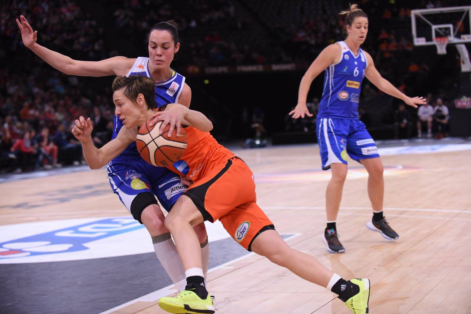Finale coupe de france f minine 2016 lattes montpellier bourges basket ffbb - Basket feminin coupe de france ...