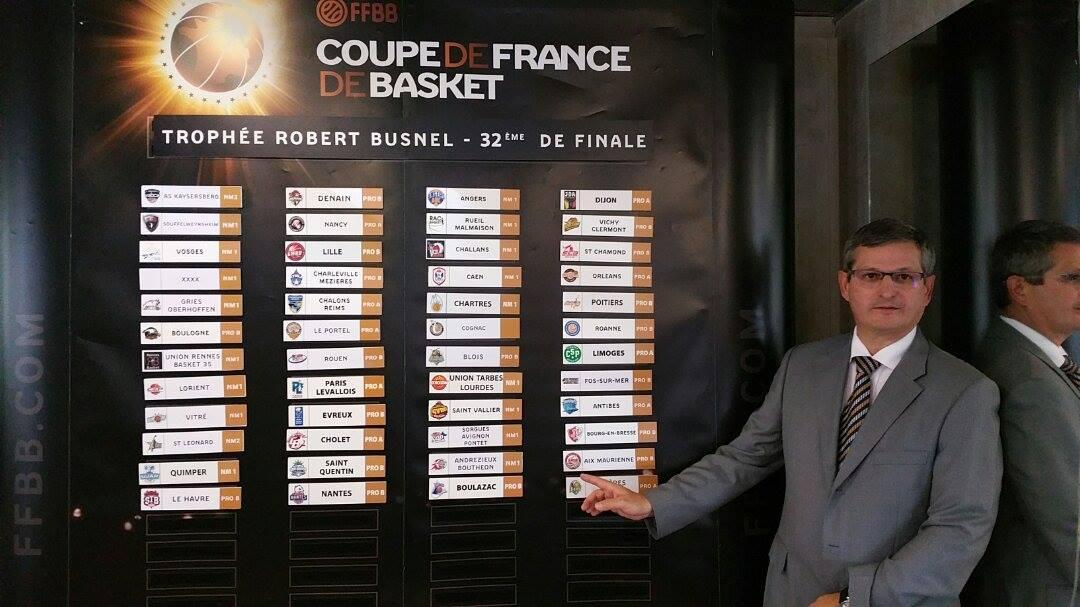 Tirage au sort des 32e et des 16e finale ffbb - Tirage au sort 32 finale coupe de france ...
