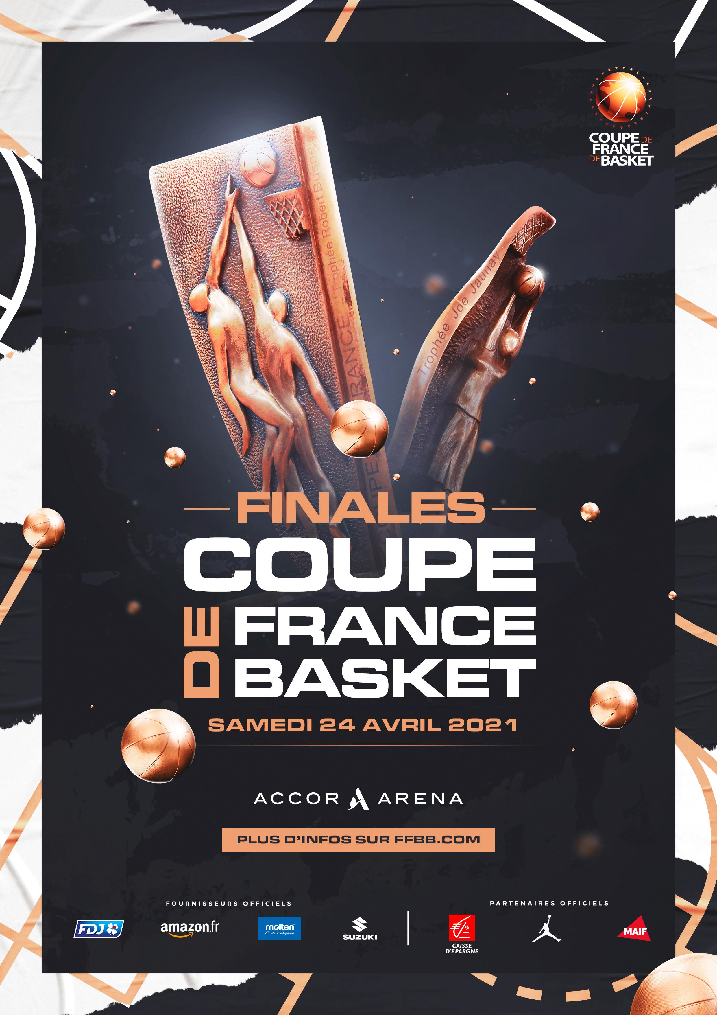 Affiche finale Coupe de France 2021