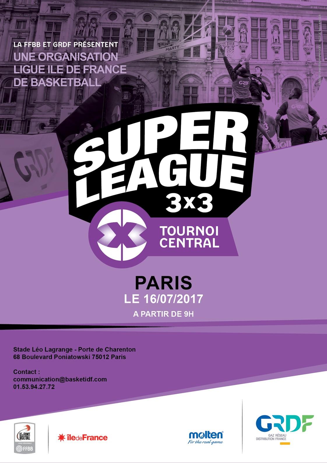 Le rendez vous parisien du basket 3x3 ffbb - Stade leo lagrange porte de charenton ...