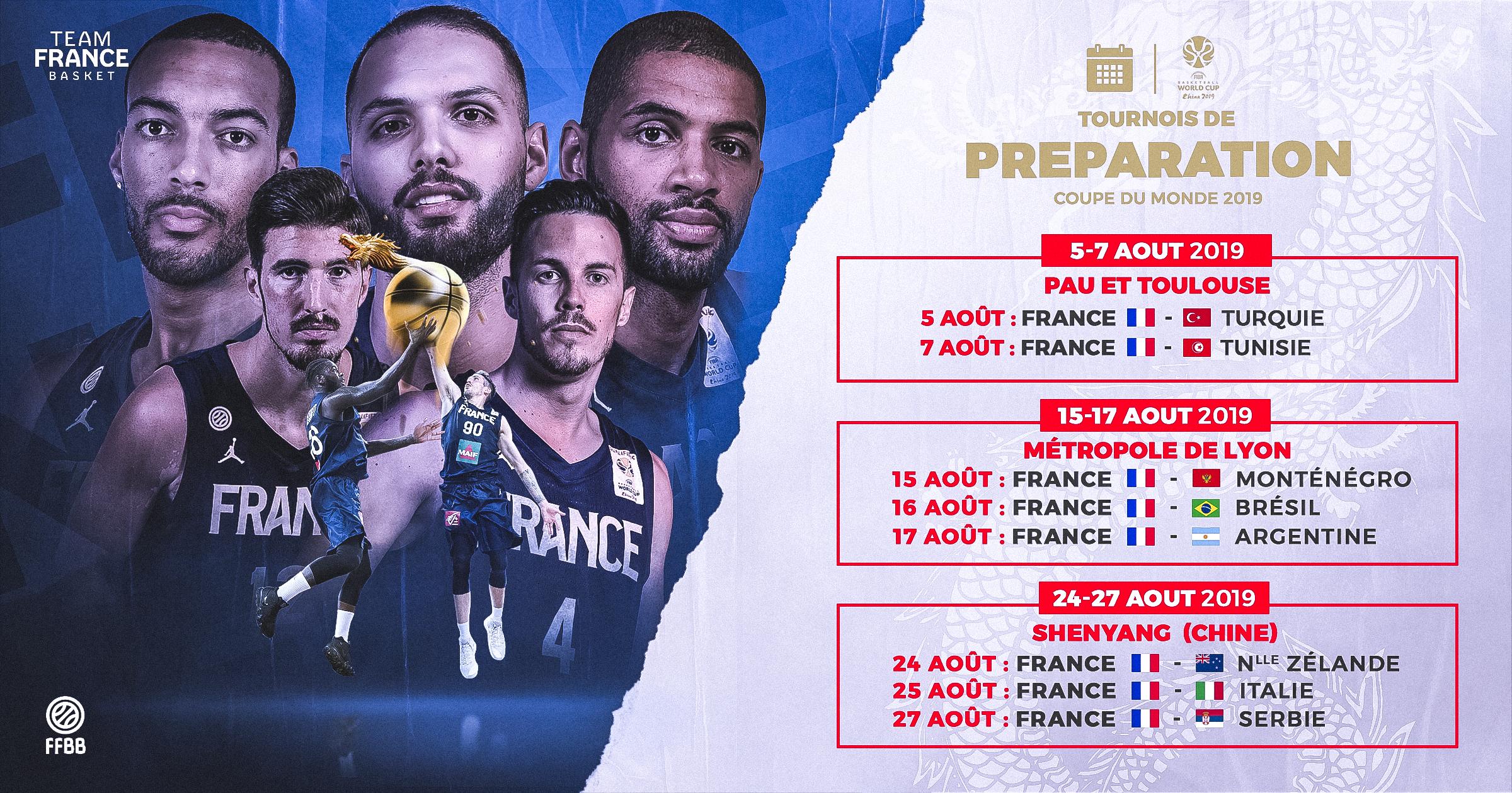 15 De France Calendrier.Une Preparation De Haut Niveau Pour Les Bleus Ffbb