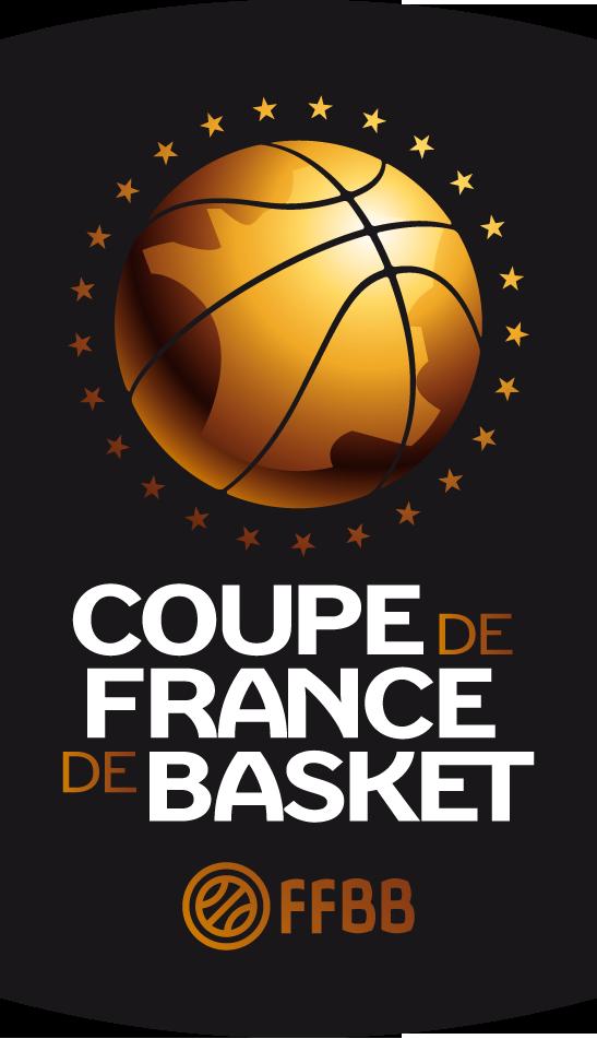 logo Coupe de France fond noir