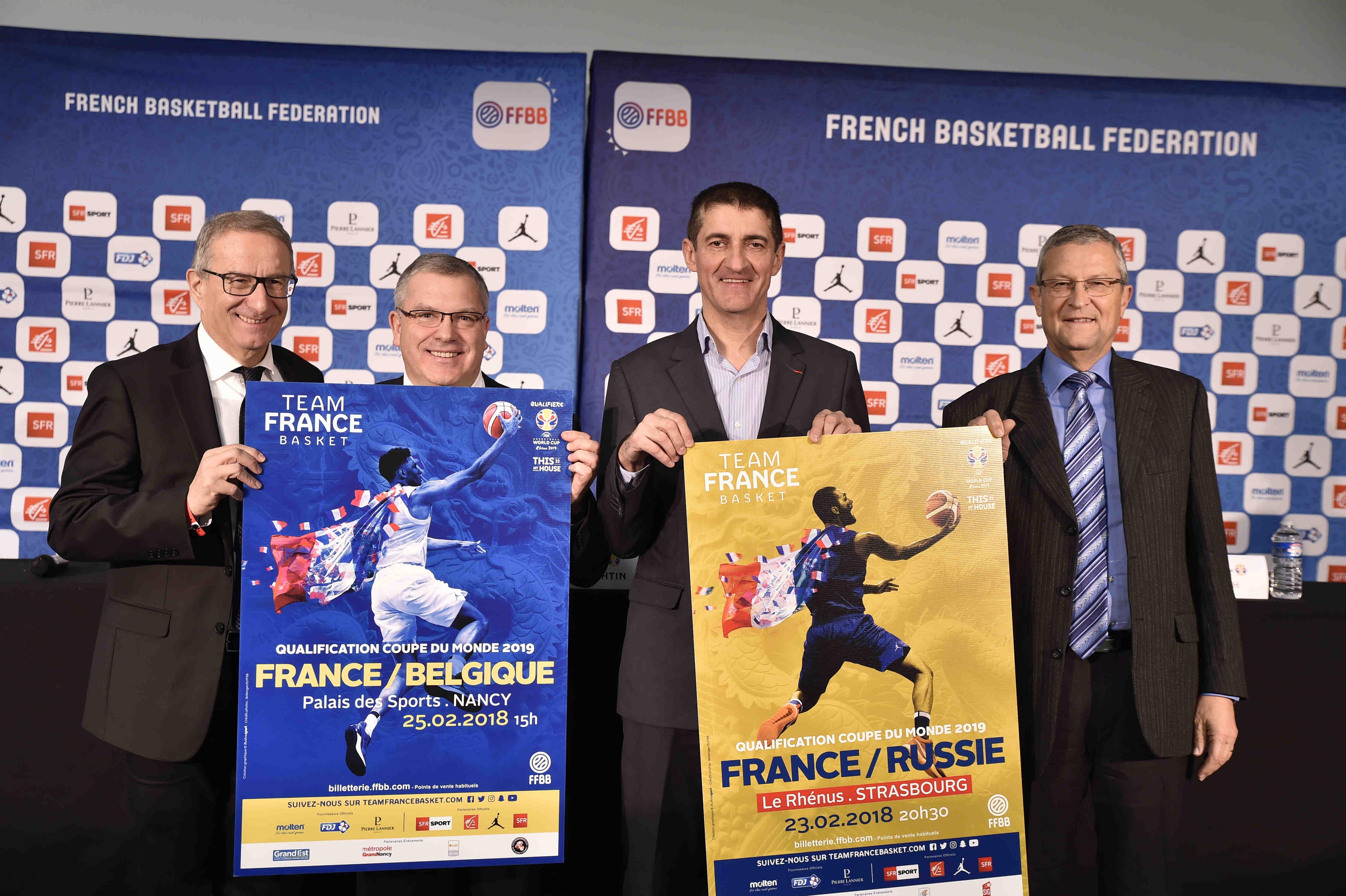 Philippe Durst, Thierry Bilichtin, Jean-Pierre Siutat, René Kirsch ont ouvert la billetterie