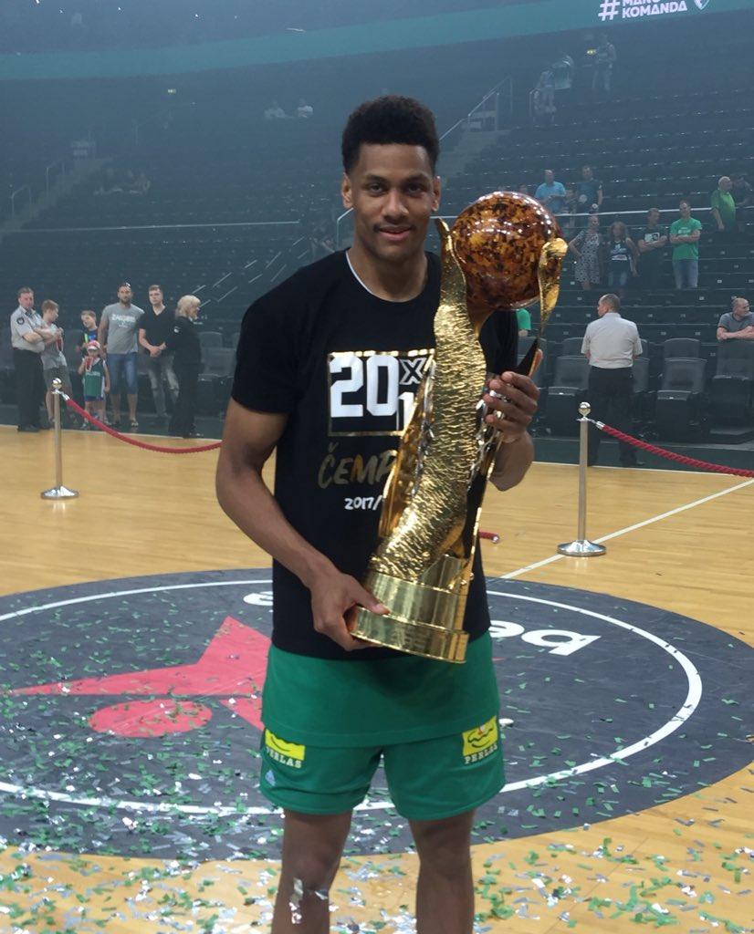 Axel Toupane, champion de Lituanie 2018