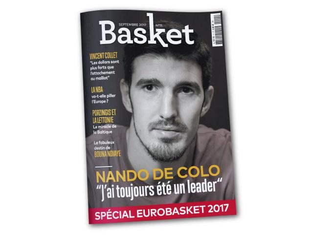 De Colo fait la couv de Basket Le Mag | FFBB