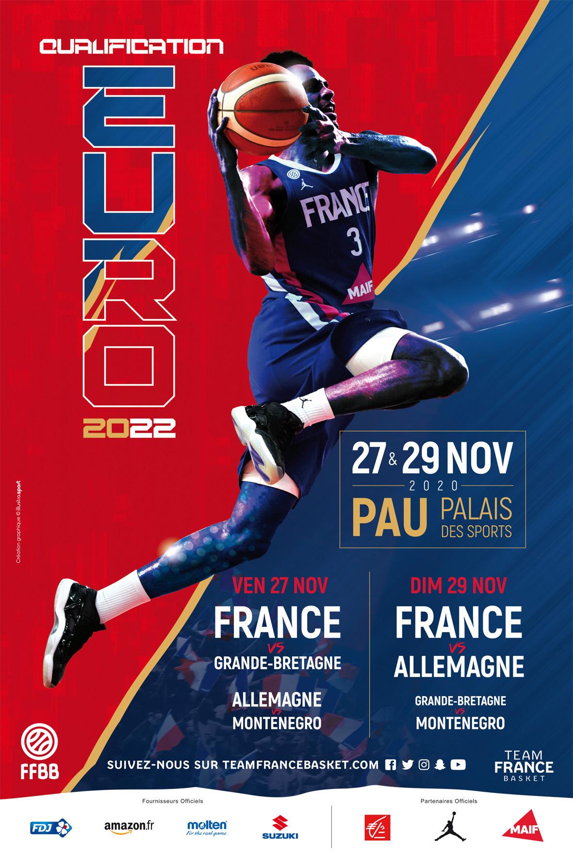 Calendrier General Ffbb 2021 2022 La France organisera 4 matches à Pau en novembre | FFBB