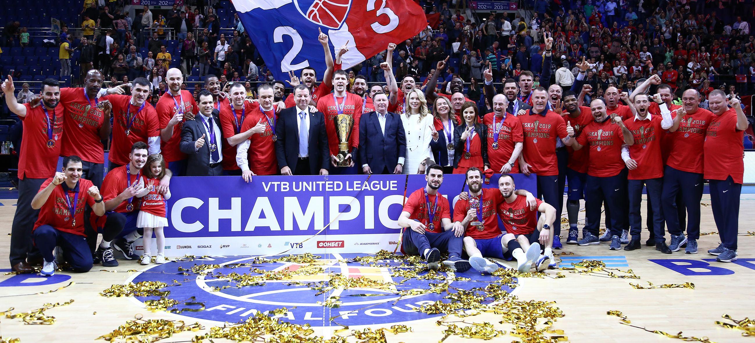Dimanche le CSKA Moscou a remporté son 7e titre consécutif