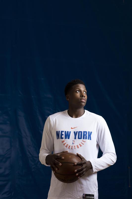 Frank Ntilikina participera au Rising Star Challenge - Photo : Pascal Perich/PresseSports