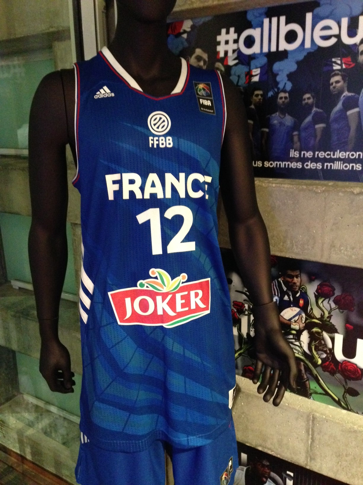 maillot basket adidas