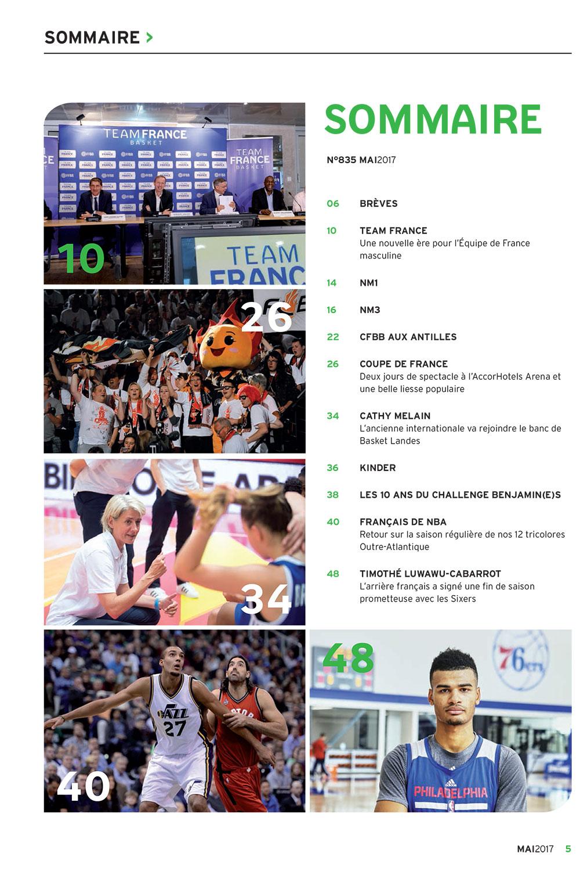 BasketBall Magazine | FFBB