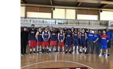 Rassemblement de l'Equipe de France 3X3 à Voiron