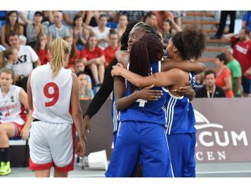 L'Equipe de France 3X3 U18 féminine
