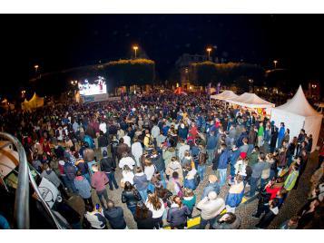 5 000 personnes devant l'écran géant du Village Basket
