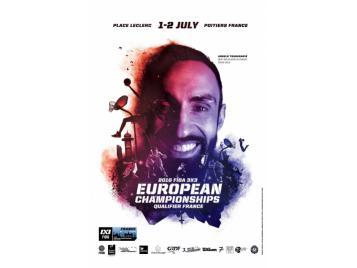 Affiche du tournoi qualificatif à l'Euro 3X3