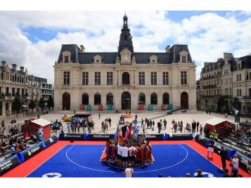 Place du Maréchal Leclerc à Poitiers