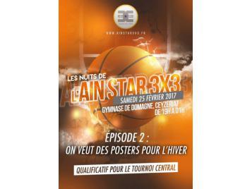 Affiche de l'Ain Star 3X3