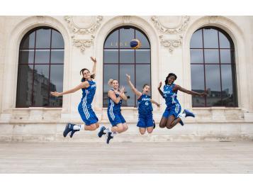 L'Equipe de France féminine de 3X3