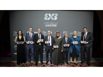Vainqueurs des FIBA 3X3 Awards