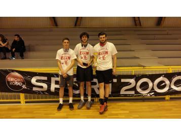 Vainqueurs du Tournoi 3x3 Elan Chalon