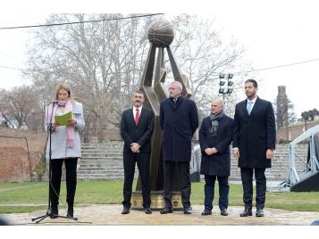 Jean Pierre Siutat était à Belgrade mercredi 12 décembre, lors d'une cérémonie exceptionnelle