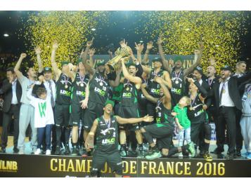 L'ASVEL champion de France 2016