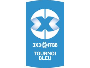 Logo 3X3 Bleu