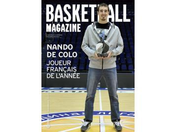 Couverture BasketBall Magazine