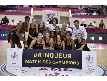 Bourges vainqueur du match des champions 2017