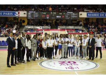 Equipes de France A' et U18 féminines