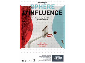 Affiche exposition Sphère d'influence