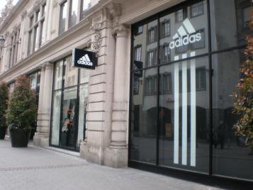 Les Bleus vous attendent à la boutique Adidas de Strasbourg