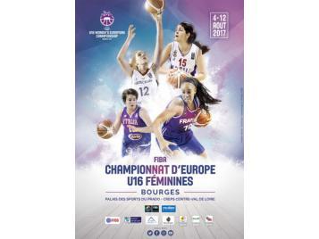 Affiche du Championnat d'Europe U16 féminin 2017