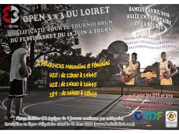 Tournoi 3X3 du Loiret