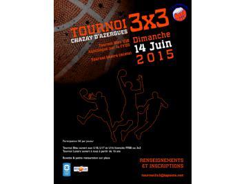 Tournoi 3X3 Chazay d'Azergues