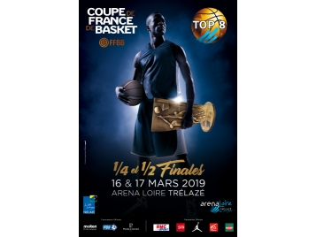 Affiche Top 8 Coupe de France 2019