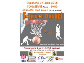 Tournoi 3X3 Tonnerre