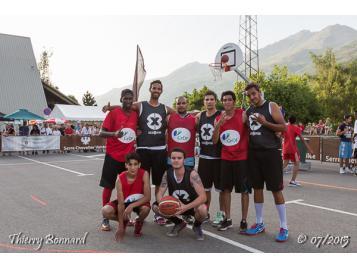 Les finalistes du tournoi Basket au sommet