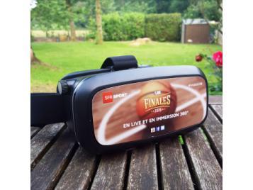 Le casque réalité virtuelle by SFR Sport