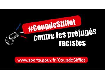 Campagne #Coupdesifflet contre les préjugés racistes