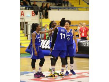 L'Equipe de France 3X3 U18 féminine a remporté le tournoi de qualification à l'Euro