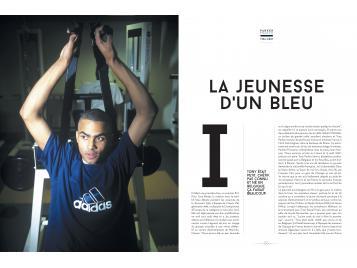 Extrait du livre, Parker son parcours en Equipe de France
