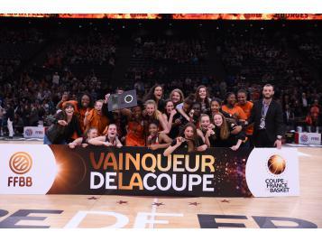 Bourges vainqueur de la Coupe de France de Basket U17