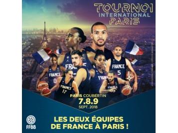 Les deux Equipes de France réunies à Paris