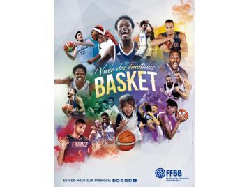 Affiche vivez des émotions basket