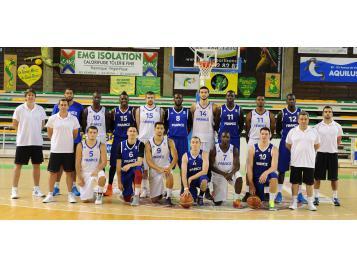 Equipe de France A' masculine de basket