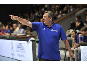 Pascal Donnadieu coach des A'