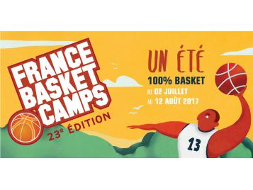 visuel France Basket Camps