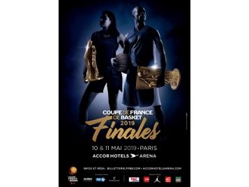 Affiche finales de la Coupe de France 2019