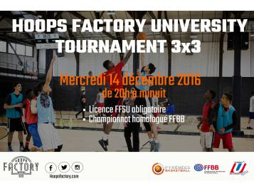 Hoops Factory University Basket 3X3
